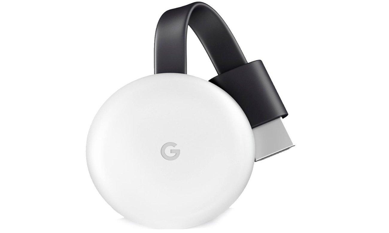 Google Chromecast 3 w kolorze białym