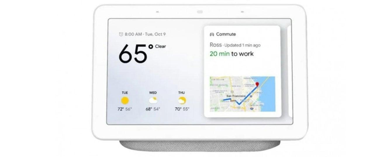 Inteligentny głośnik Google Nest Hub biały