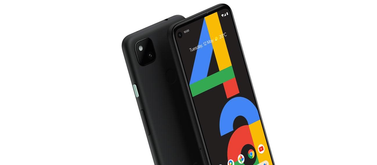 Nowoczesny smartfon Google Pixel 4a czarny