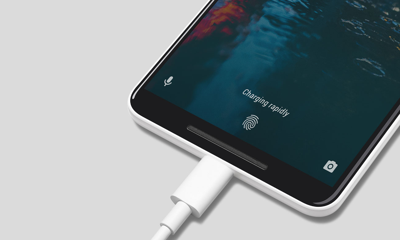 Google Pixel 2 pojemna bateria