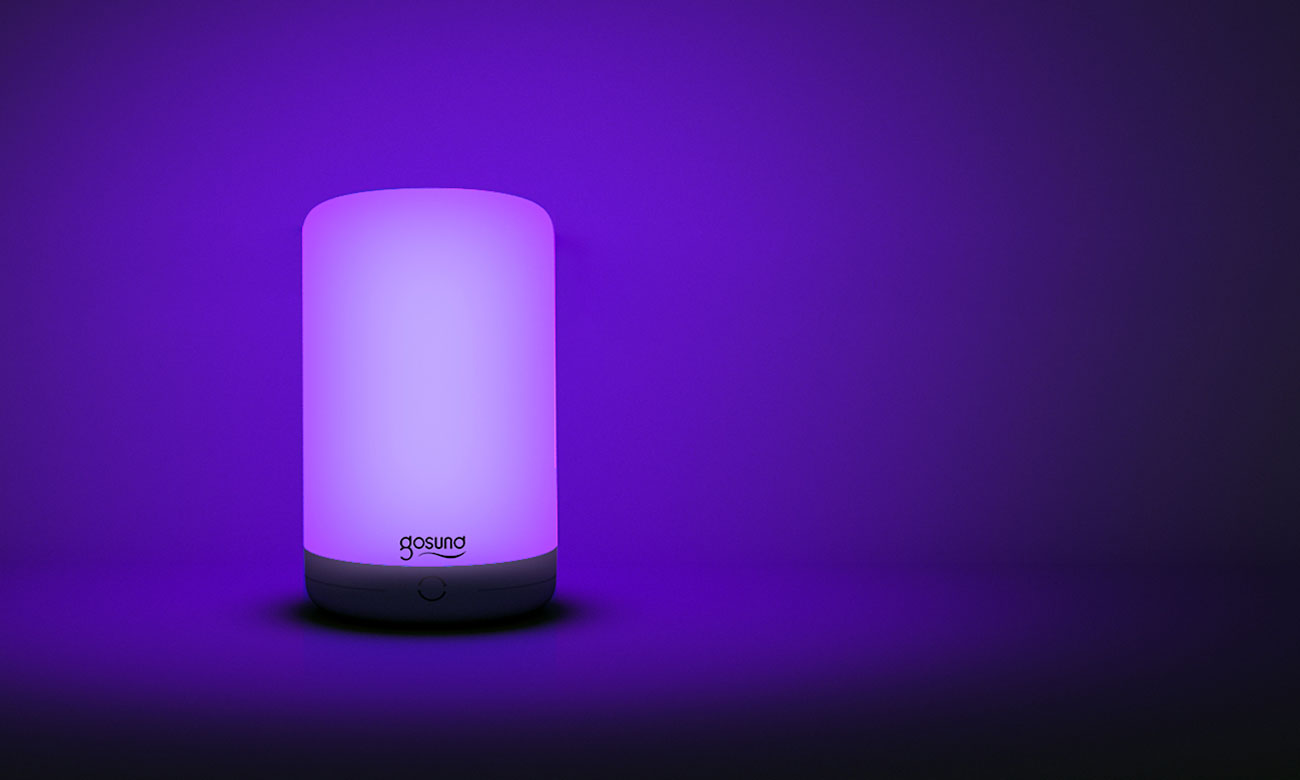 Inteligentna lampa Gosund Lampka nocna Smart Light RGB LB3