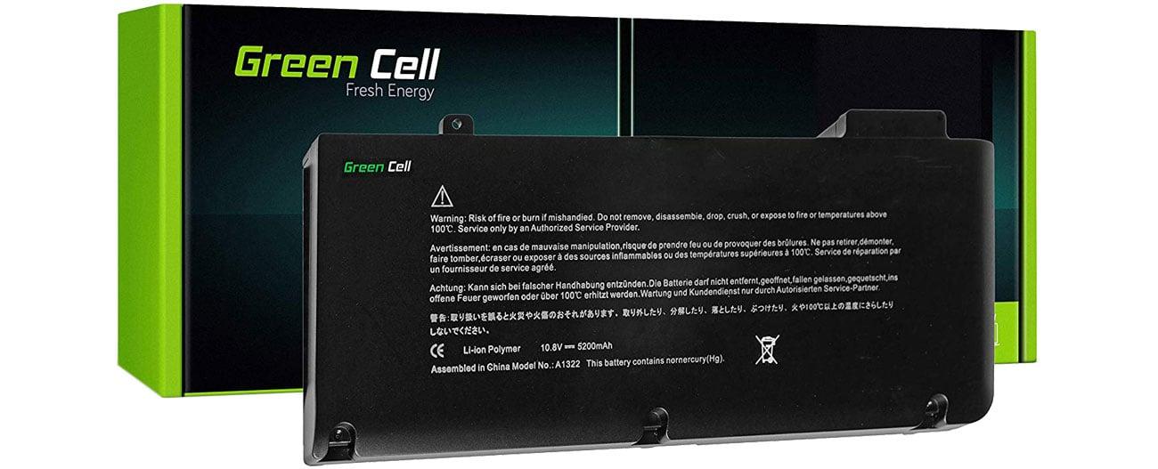 Green Cell Bateria do MacBook Pro 13 (56Wh, 10.8V, 11.1V) AP06