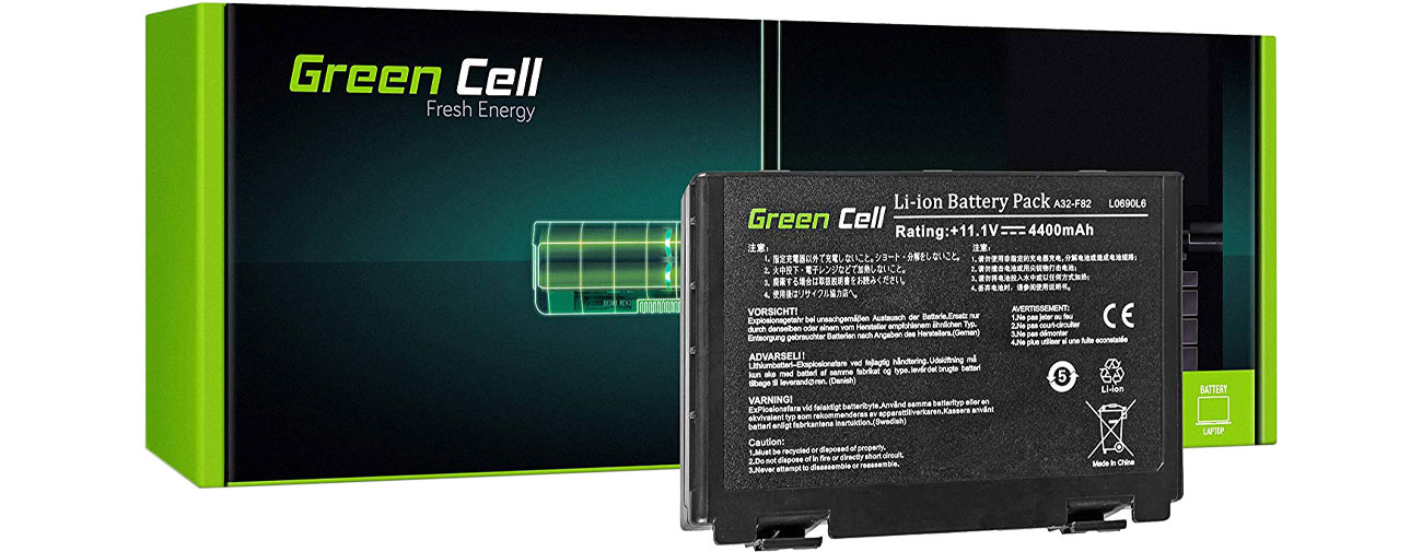 Green Cell Bateria do Asus (4400 mAh, 10.8V, 11.1V) AS01