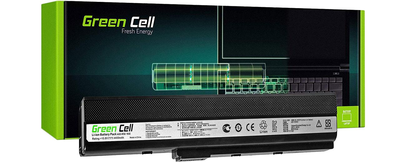 Green Cell Bateria do Asus (4400 mAh, 11.1V, 10.8V)