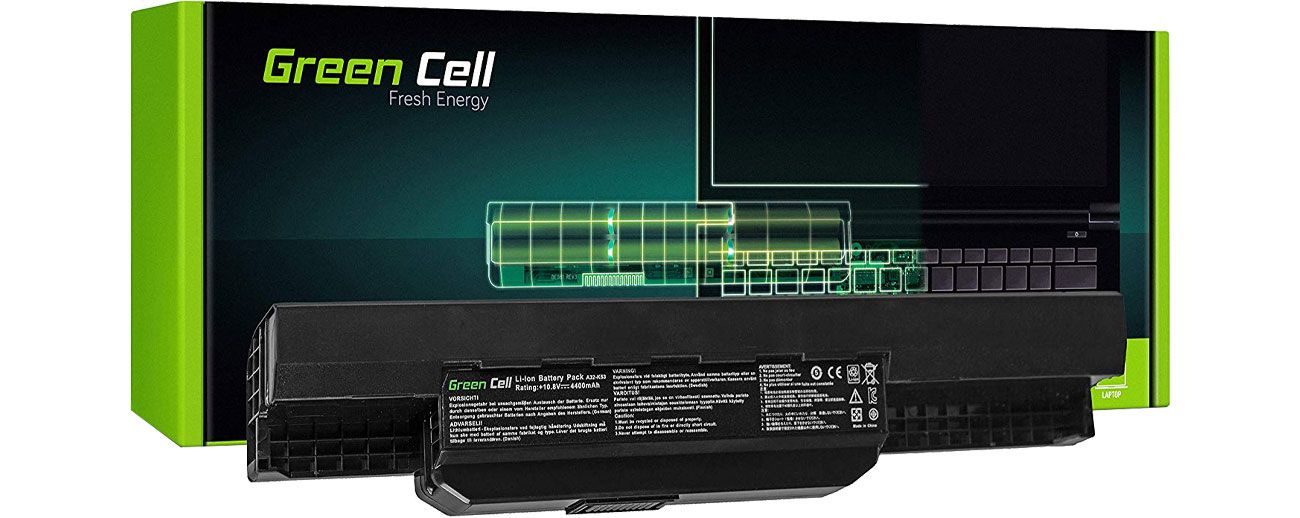 Green Cell Bateria do Asus (4400 mAh, 10.8V, 11.1V) AS04