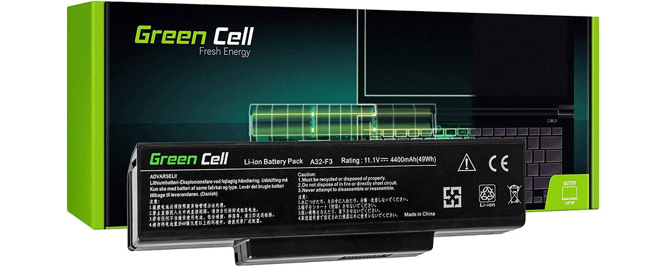 Green Cell Bateria do Asus (4400 mAh, 11.1V, 10.8V) AS12