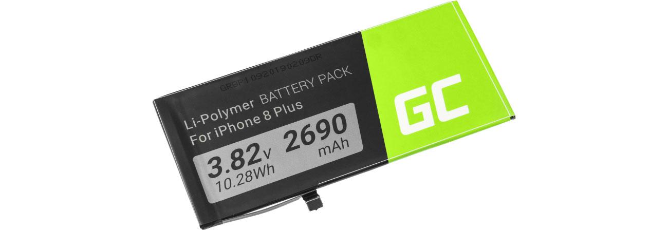 Green Cell Bateria A1864 do Apple iPhone 8 Plus + zest. narz. BP109