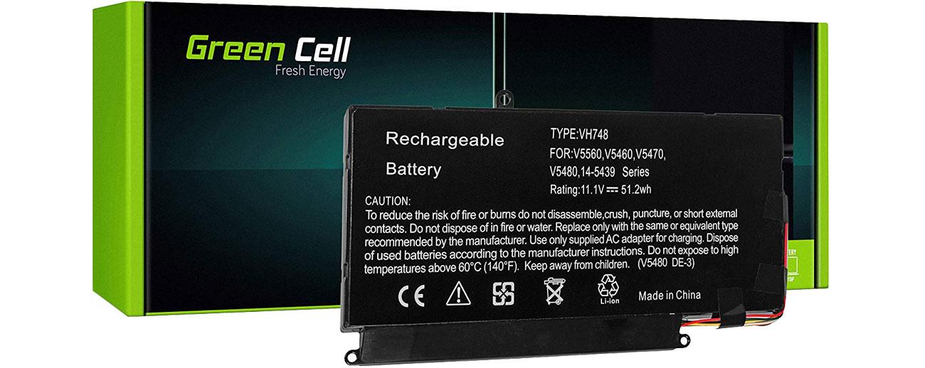 Green Cell Bateria do Dell Vostro (4600 mAh, 11.1V, 10.8V) DE105