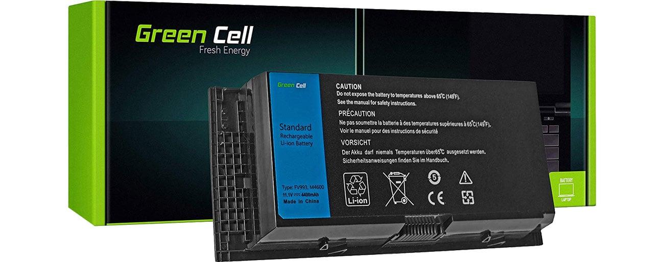 Green Cell Bateria do Dell Precision (4400 mAh, 11.1V, 10.8V) DE45