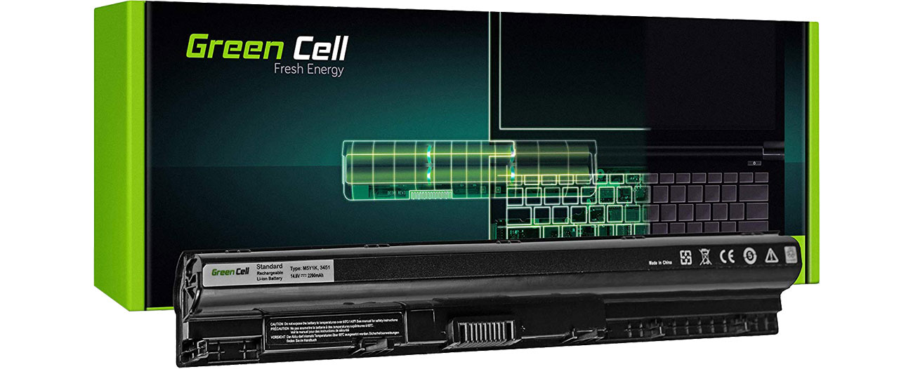Green Cell Bateria do Dell Inspiron (2200 mAh, 14.8V, 14.4V) DE77