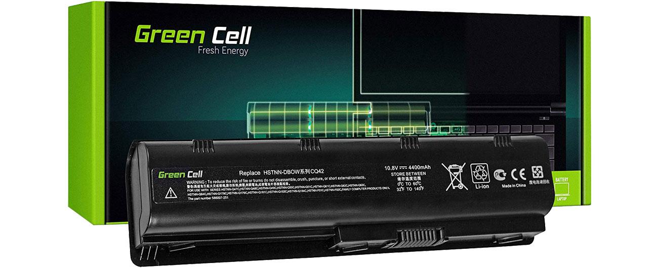 Green Cell Bateria do HP (4400 mAh, 10.8V, 11.1V) HP03