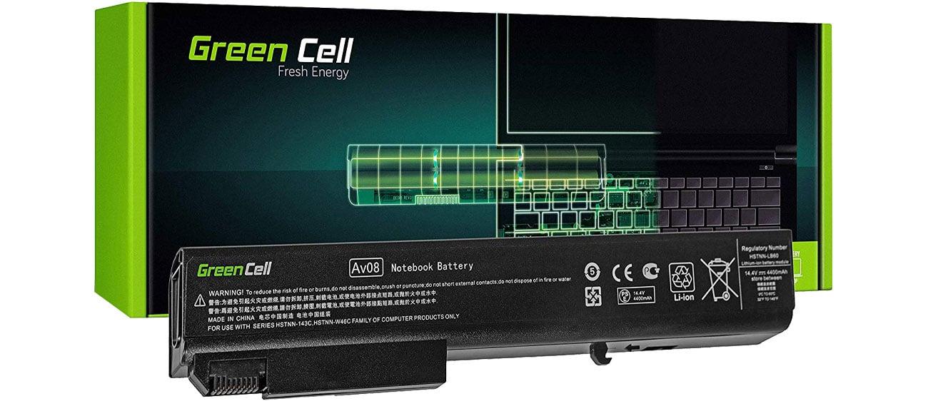 Green Cell Bateria do HP EliteBook (4400 mAh, 14.4V, 14.8V) HP15
