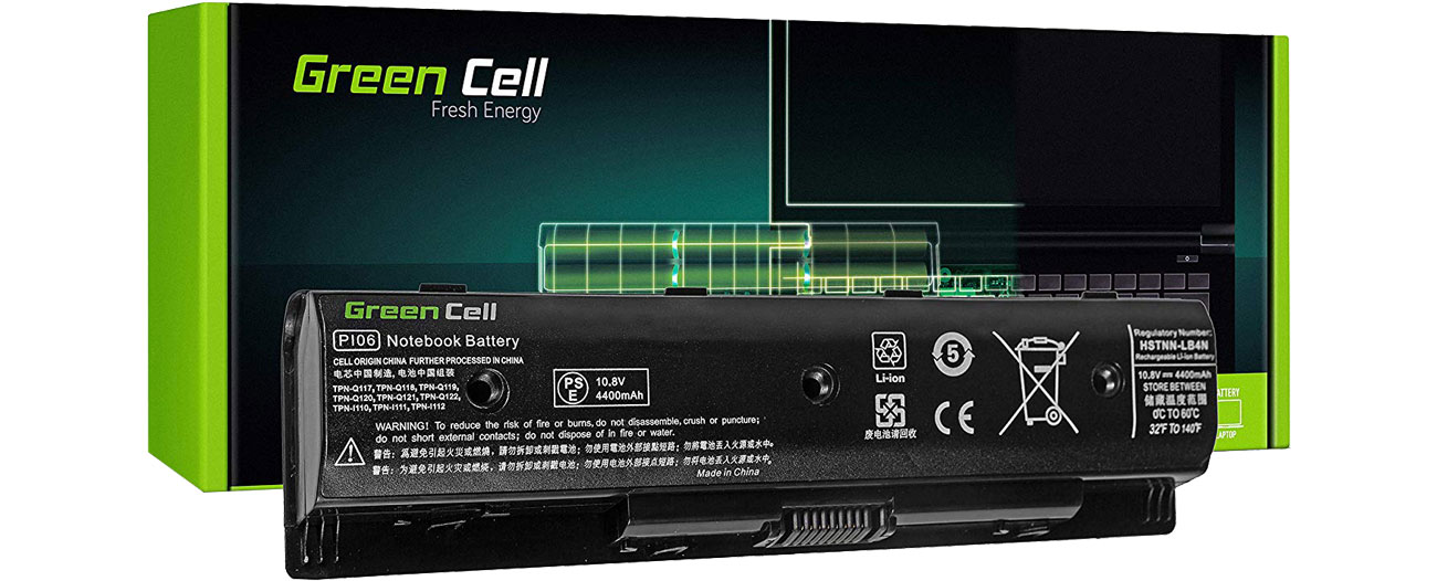 Green Cell Bateria do HP Pavilion (4400 mAh, 10.8V, 11.1V) HP78