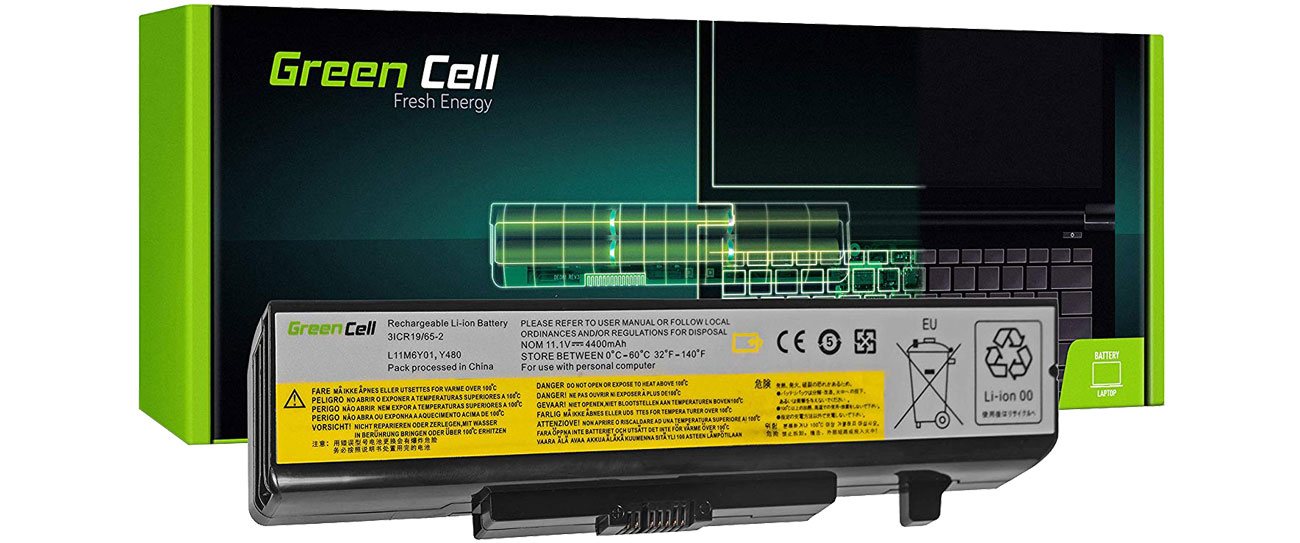 Green Cell Bateria do Lenovo (4400 mAh, 10.8V, 11.1V) LE34