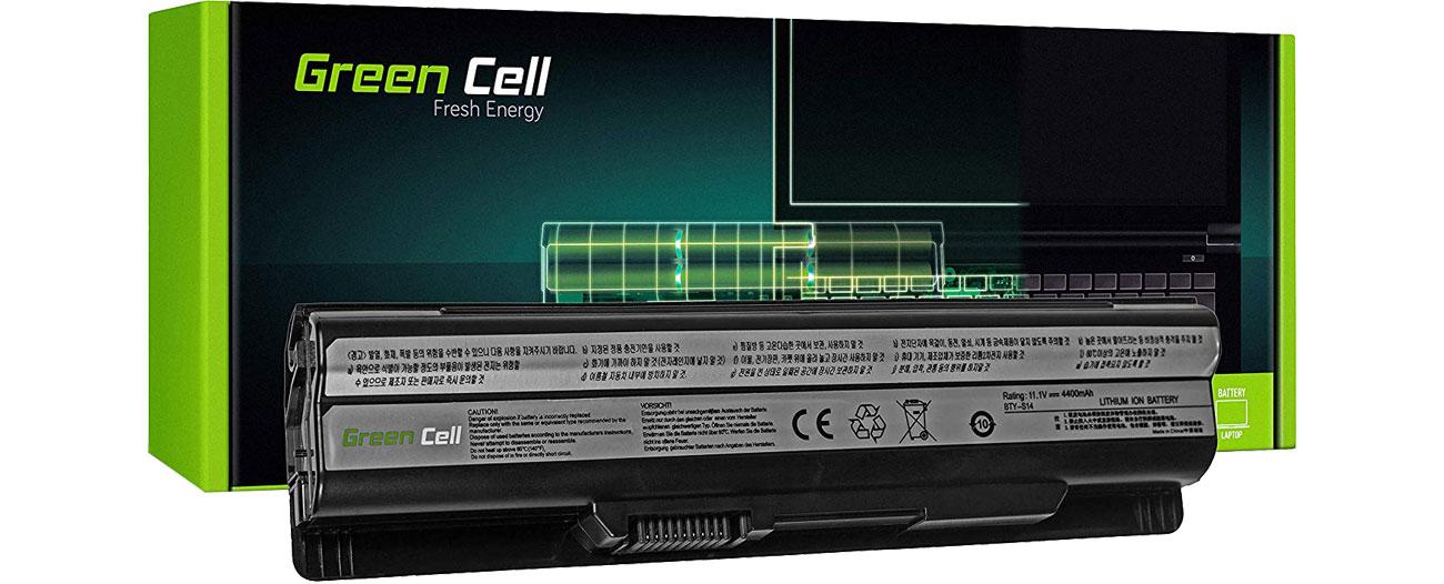 Green Cell Bateria do MSI (4400 mAh, 11.1V, 10.8V) MS05