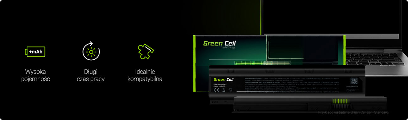 Baterie do laptopa Green Cell