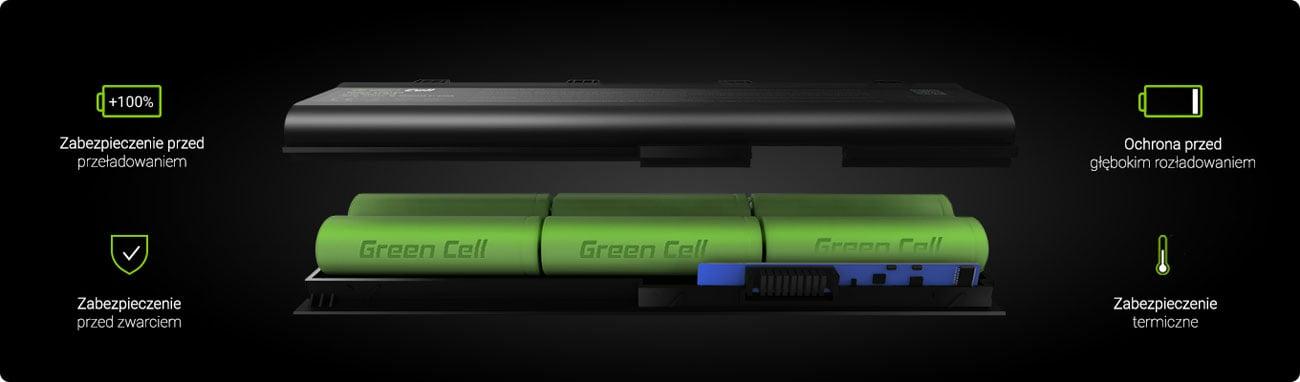 Baterie do laptopa Green Cell