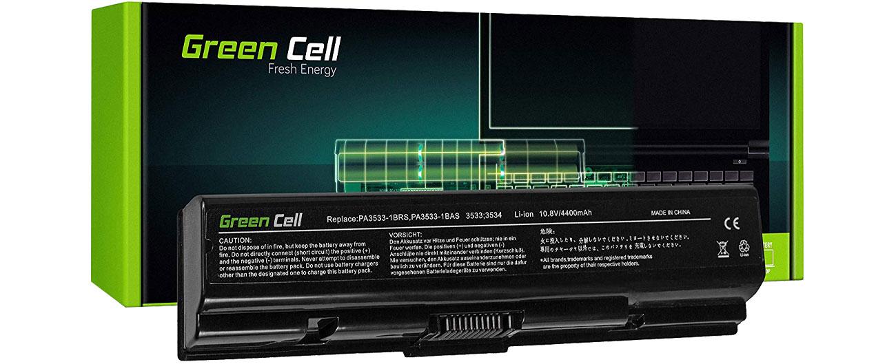 Green Cell Bateria do Toshiba (4400 mAh, 10.8V, 11.1V) TS01