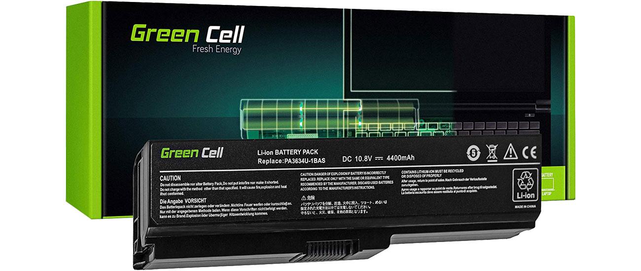 Green Cell Bateria do Toshiba (4400 mAh, 10.8V, 11.1V) TS03