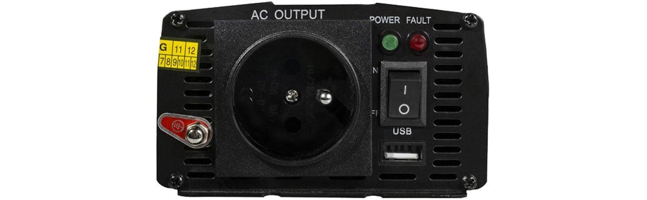 Green Cell Przetwornica napięcia 24V na 230V 300W/600W INV14