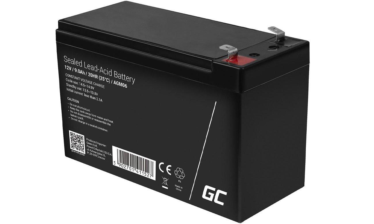 Green Cell Akumulator AGM 12V 9Ah AGM06