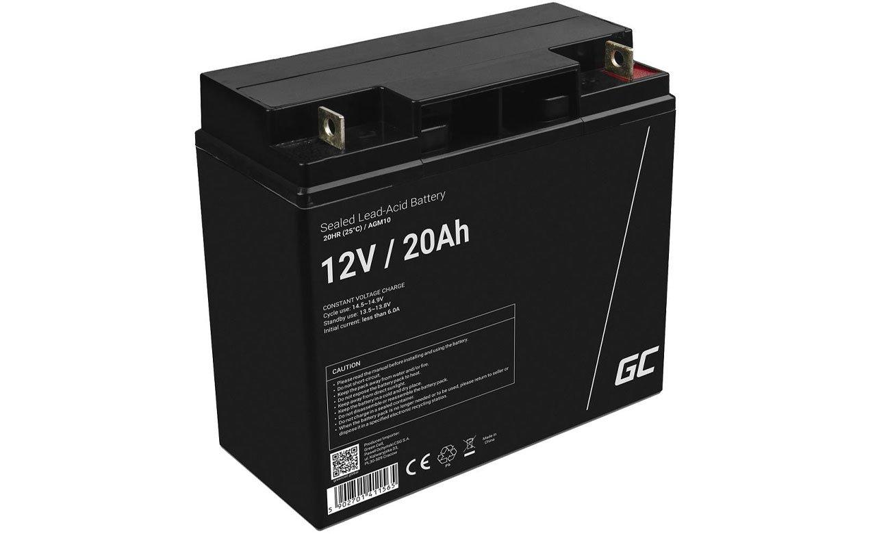 Green Cell Akumulator AGM 12V 20Ah AGM10
