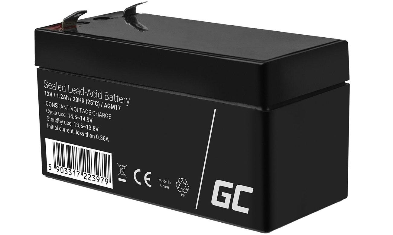 Akumulator AGM VRLA 12V 1.2Ah AGM17