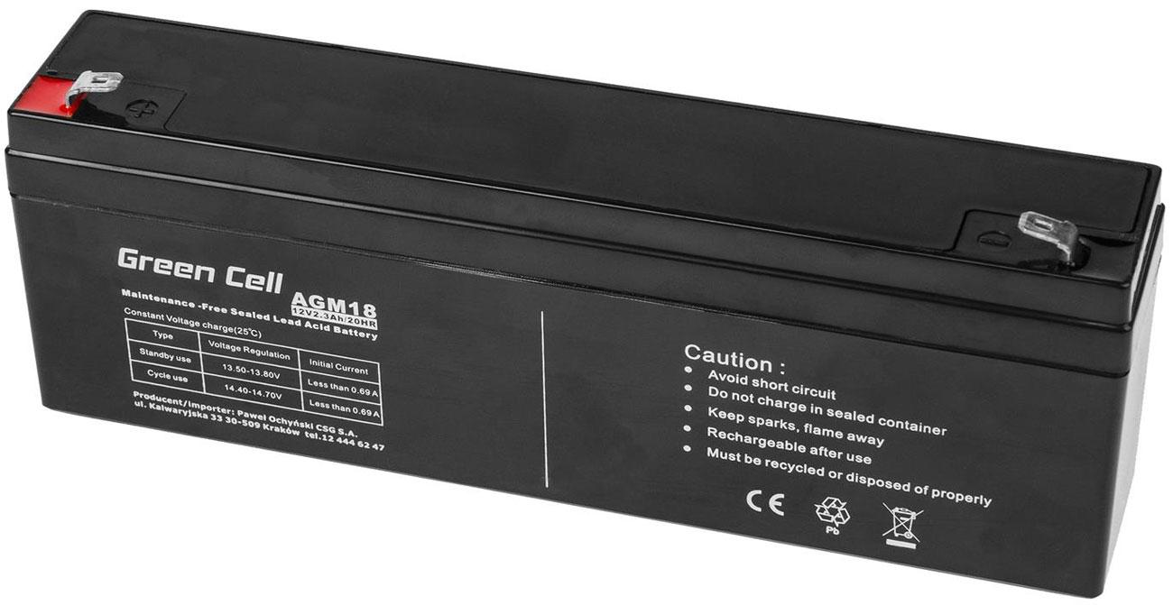 Akumulator AGM VRLA 12V 2.3Ah AGM18