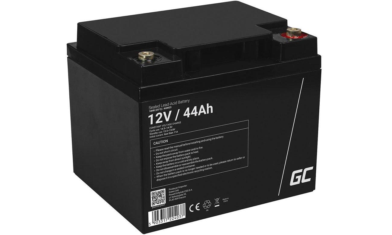 Akumulator AGM VRLA 12V 44Ah AGM23