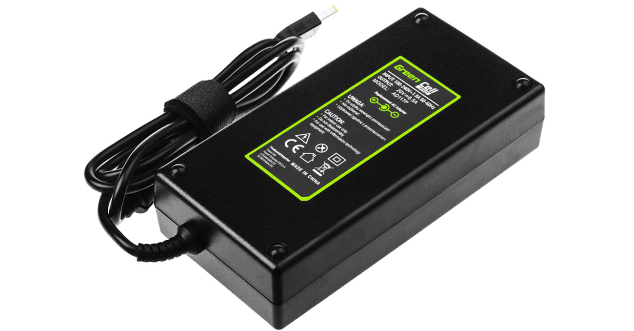 Zasilacz Green Cell do Lenovo 170W (8.5A, Slim Tip)