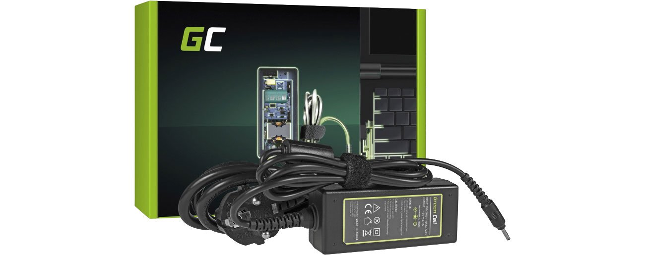 Green Cell Zasilacz do Samsung 40W (2.1A, 3.0-1.1mm) AD18A