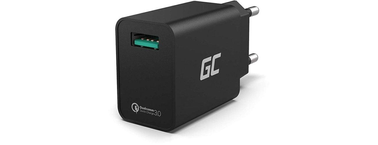 Green Cell Ładowarka sieciowa 18W (QC 3.0) CHAR06