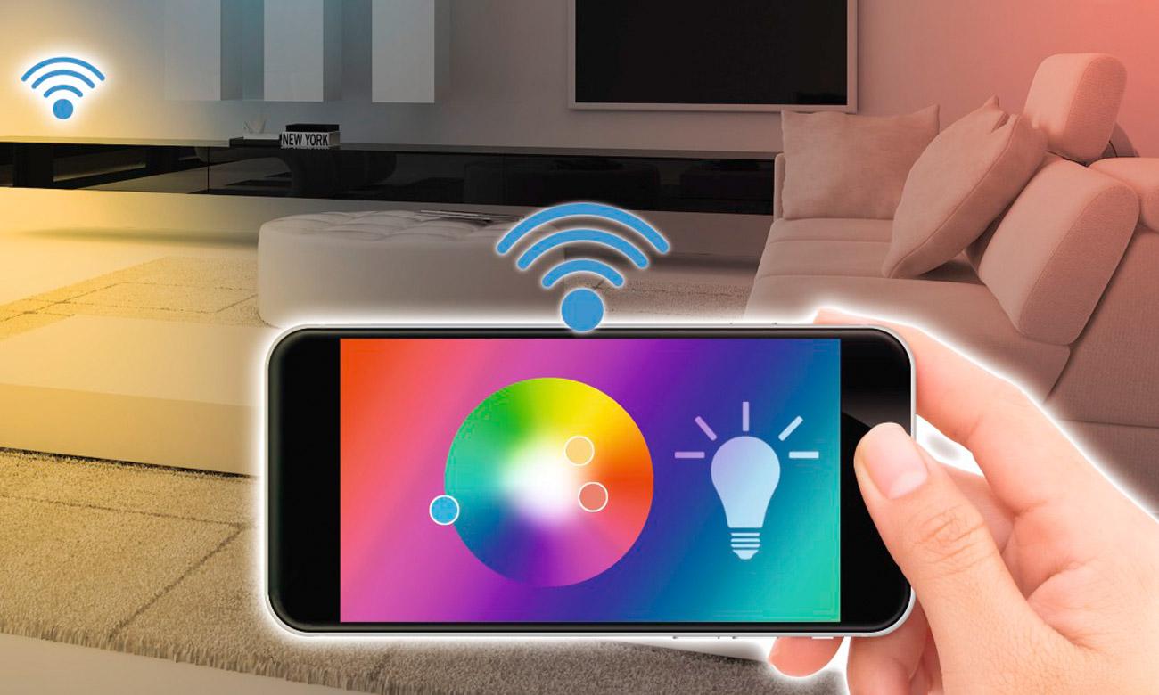Inteligentna lampa sufitowa Hama Wi-Fi 30cm