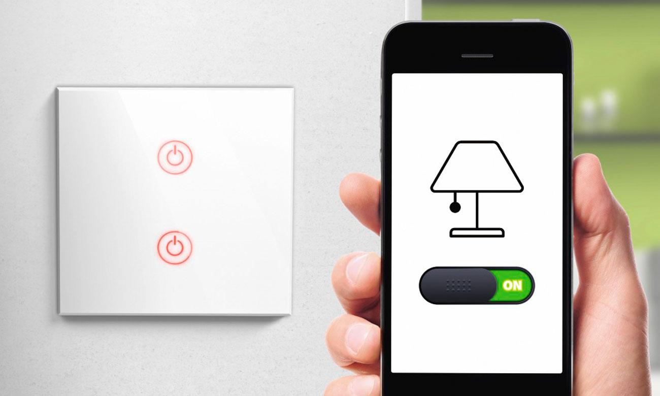 Hama Podwójny włącznik światła Wi-Fi 176551