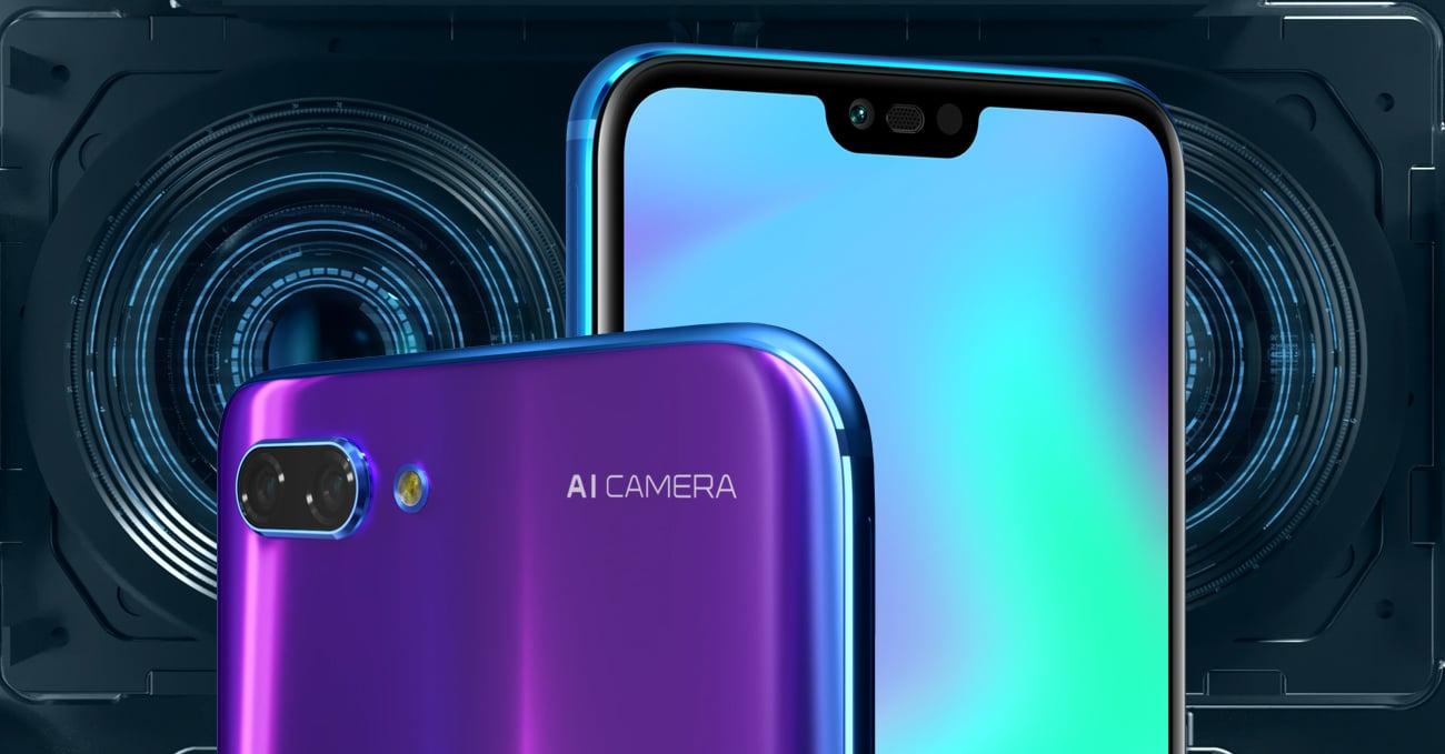 Honor 10 podwójny aparat ze wsparciem AI