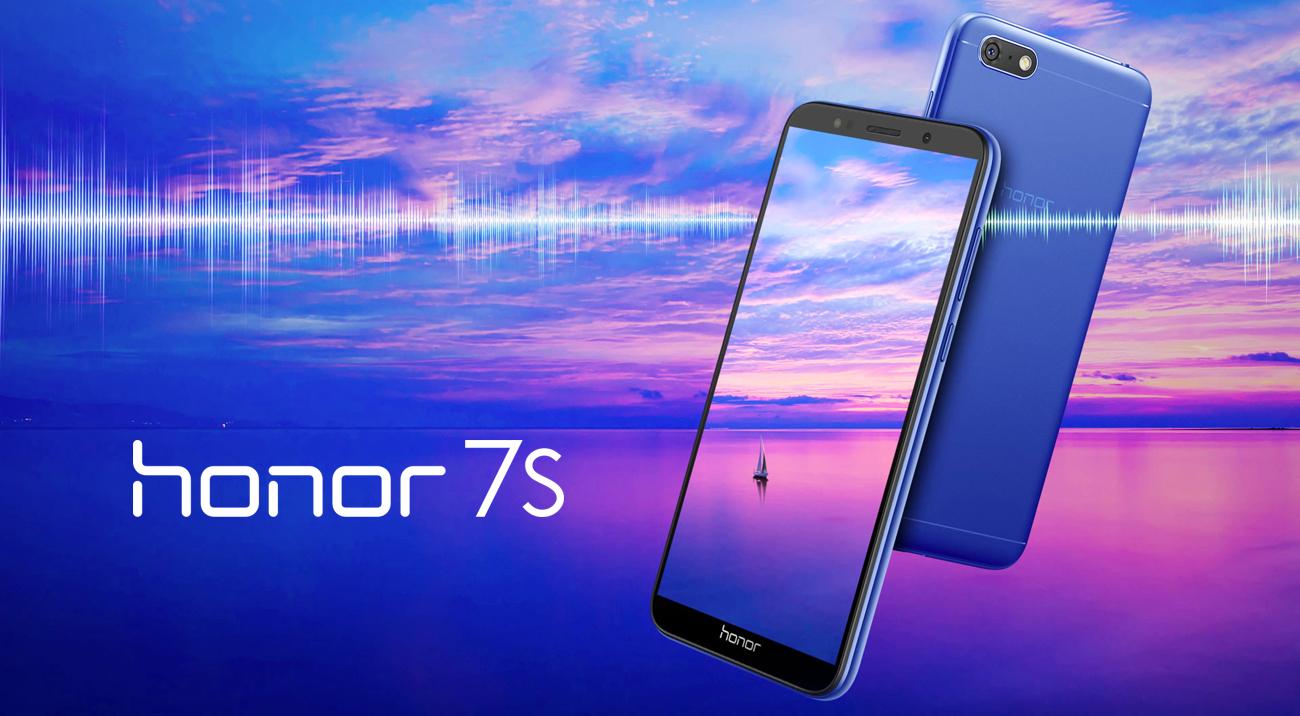 Honor 7S smukły kalsyczny design
