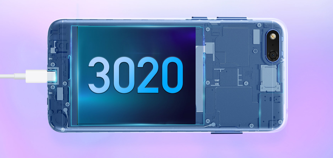Honor 7S bateria 3020 mah