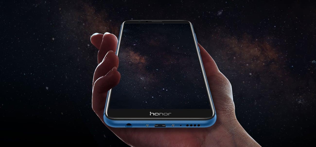 Honor 7X obudowa ze szkła i metalu