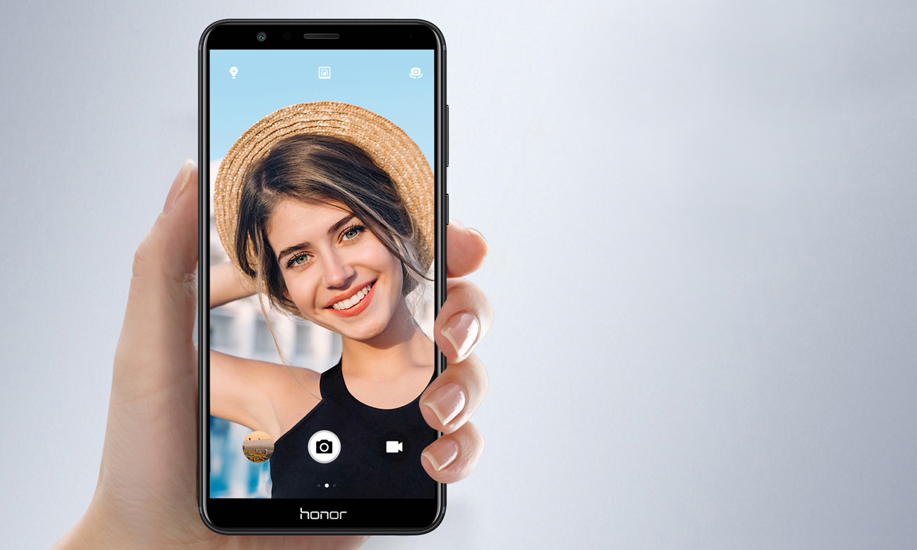 Honor 7X selfie kamera 8 mpix