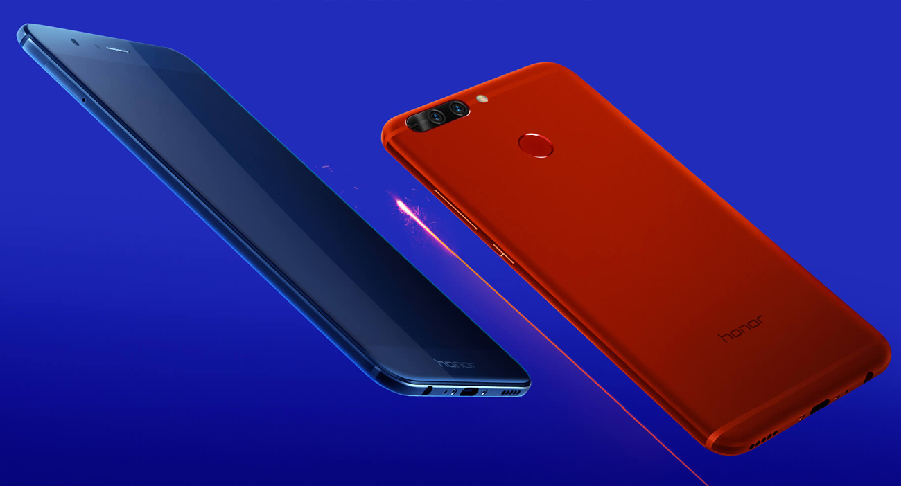 Huawei Honor 8 Pro granatowy smukła metalowa obudowa