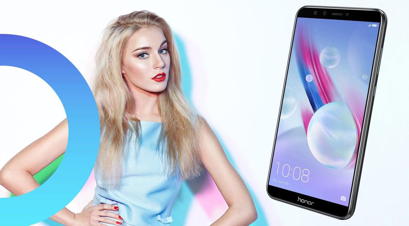 Honor 9 Lite podwójna kamera selfie 13 + 2 Mpix panorama
