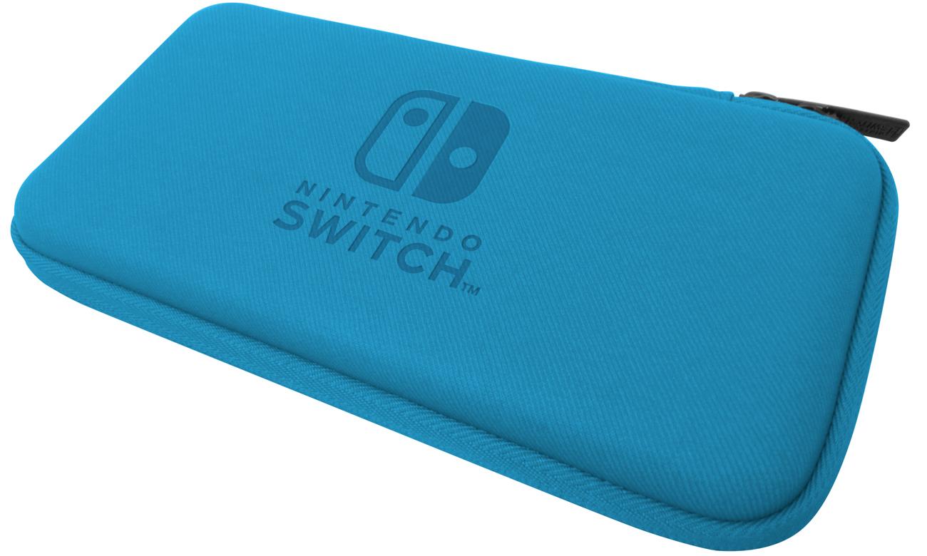 Niebieskie etui HORI do konsoli Nintendo Switch Lite