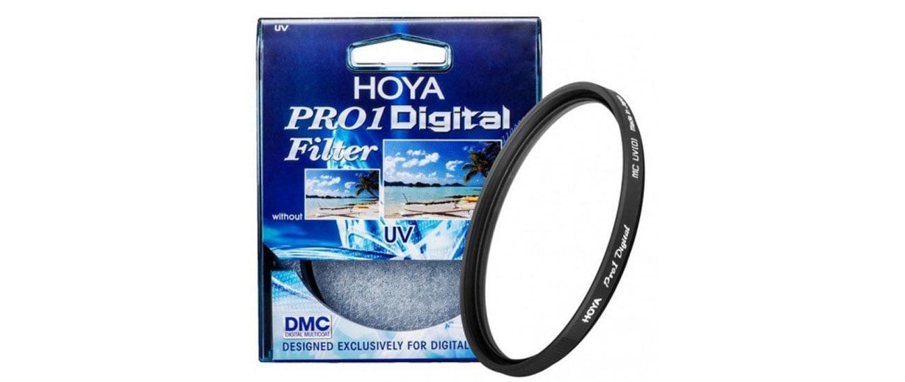 Filtr fotograficzny Hoya UV (O) PRO1D wymagający użytkownik wytrzymałośc niezawodność