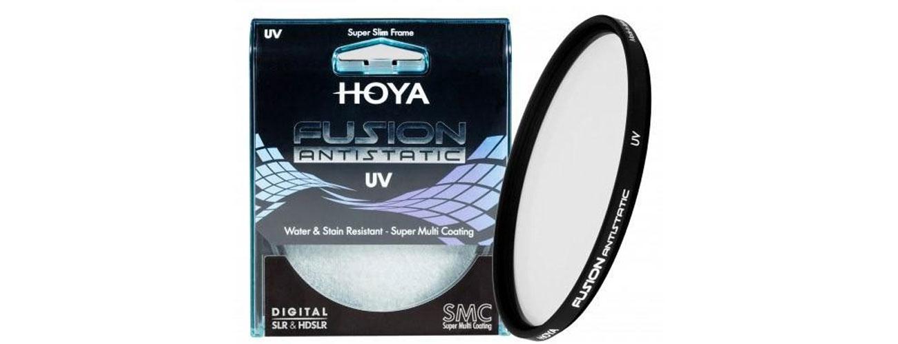 Filtr fotograficzny Hoya UV FUSION ANTISTATIC