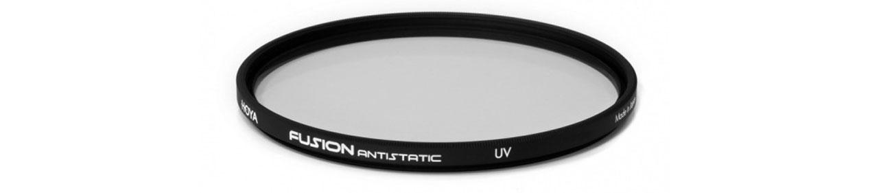 Filtr fotograficzny Hoya UV FUSION ANTISTATIC  skuteczna ochona