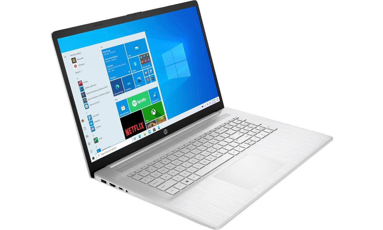 HP 17 klawiatura i ekran