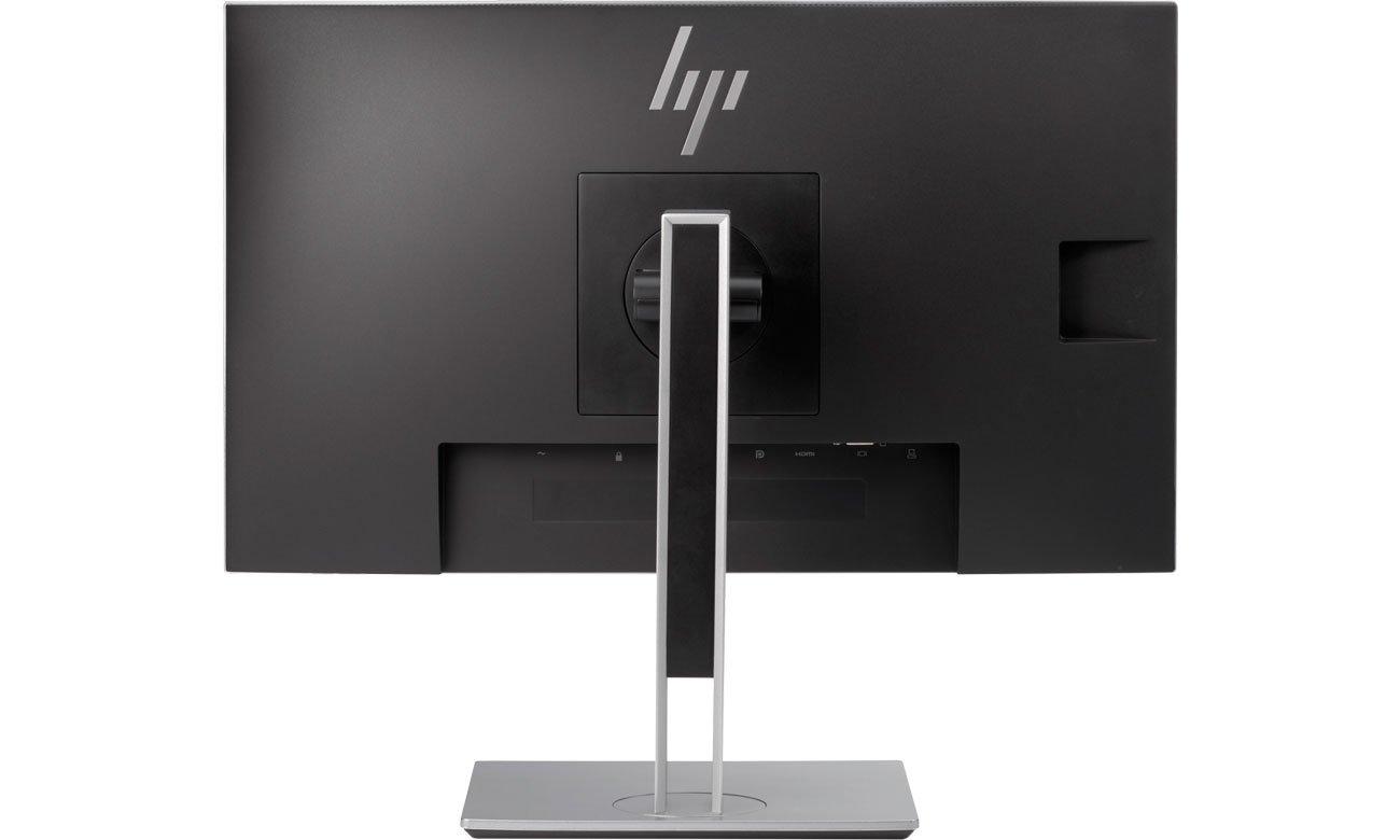 HP EliteDisplay E233 Widok Z Tyłu