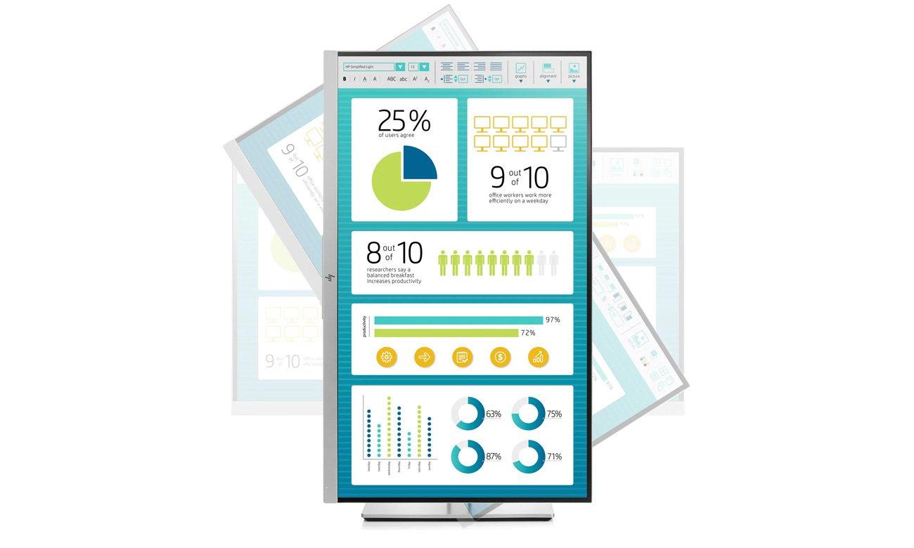 Monitor do domu i biura HP EliteDisplay E273