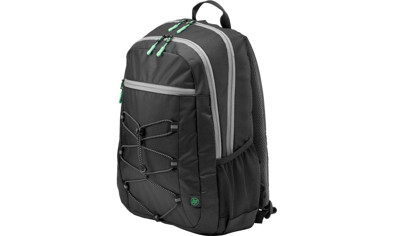 Plecak na laptopa HP Active Backpack 15,6'' (czarno-zielony) 1LU22AA