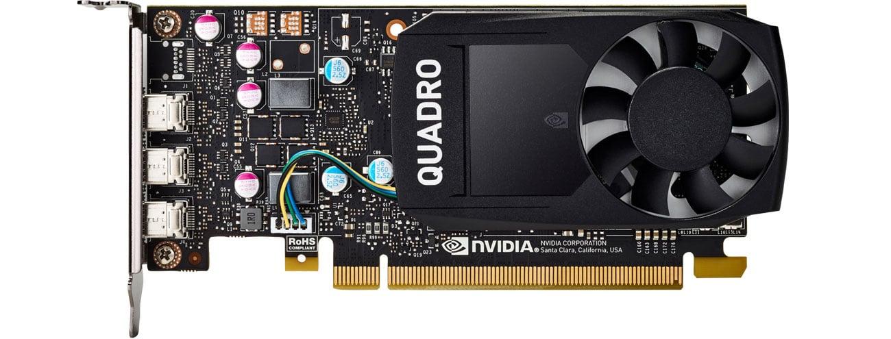 Karta graficzna NVIDIA HP Quadro P400 2GB GDDR5 1ME43AA